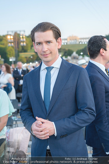 Sommernachtskonzert 2021 - Schönbrunn, Wien - Fr 18.06.2021 - Sebastian KURZ (Portrait)35