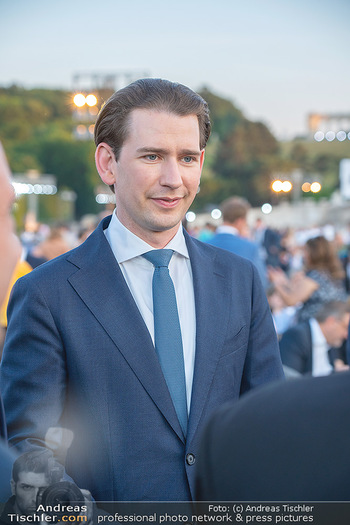 Sommernachtskonzert 2021 - Schönbrunn, Wien - Fr 18.06.2021 - Sebastian KURZ (Portrait)44