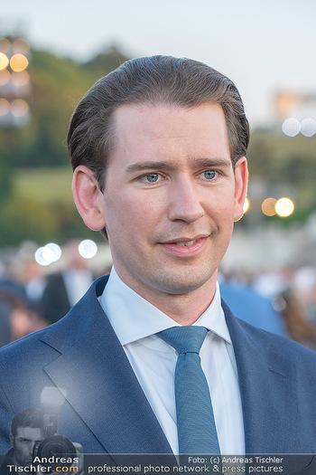 Sommernachtskonzert 2021 - Schönbrunn, Wien - Fr 18.06.2021 - Sebastian KURZ (Portrait)48