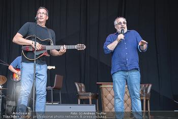 Kultursommer Opening - Globe Wien Open Air - So 20.06.2021 - Michael NIAVARANI, Viktor GERNOT gemeinsam auf der Bühne, Bühn15