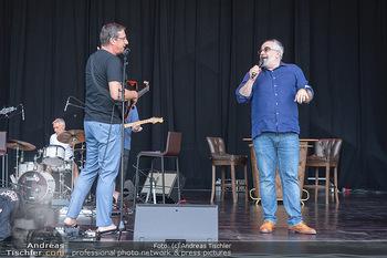 Kultursommer Opening - Globe Wien Open Air - So 20.06.2021 - Michael NIAVARANI, Viktor GERNOT gemeinsam auf der Bühne, Bühn16