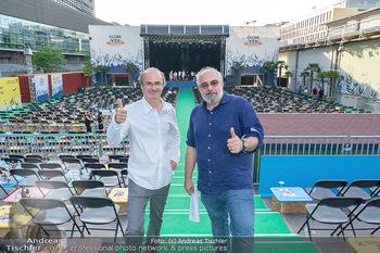 Kultursommer Opening - Globe Wien Open Air - So 20.06.2021 - Georg HOANZL, Michael NIAVARANI32