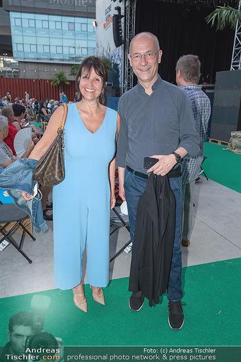 Kultursommer Opening - Globe Wien Open Air - So 20.06.2021 - Renate SCHIFFER, Toni Anton FABER42