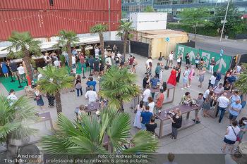 Kultursommer Opening - Globe Wien Open Air - So 20.06.2021 - Gastronomie, Gäste, Corona, Abstandsregeln44