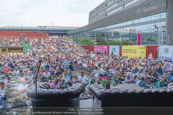 Kultursommer Opening - Globe Wien Open Air - So 20.06.2021 - Publikum, Zuschauer, Gäste, corona-konforme Sitzplatzverteilung47