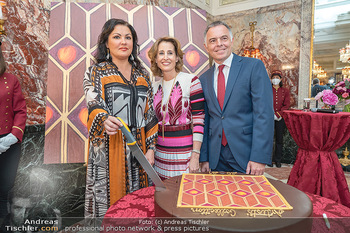 Sacher´s Artist Collection - Hotel Sacher, Wien - Di 22.06.2021 - Alexandra WINKLER, Anna NETREBKO, Rainer RIEDL1