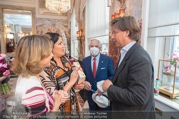 Sacher´s Artist Collection - Hotel Sacher, Wien - Di 22.06.2021 - Alexandra und Matthias WINKLER, Anna NETREBKO, Aki NUREDINI48