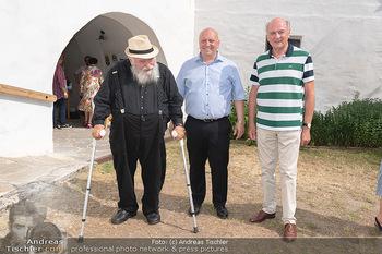 Hilfe im eigenen Land Charity - Brandlhof, Radlbrunn Nö - Do 24.06.2021 - Hermann NITSCH, Erwin PRÖLL, Andreas UBL10