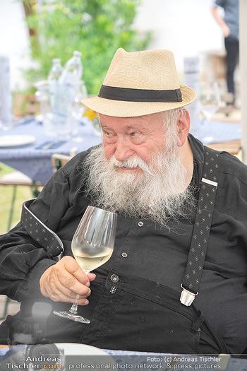 Hilfe im eigenen Land Charity - Brandlhof, Radlbrunn Nö - Do 24.06.2021 - Hermann NITSCH (Portrait)18