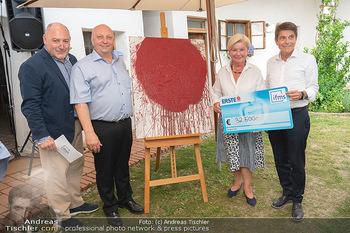 Hilfe im eigenen Land Charity - Brandlhof, Radlbrunn Nö - Do 24.06.2021 - Rudi ROUBINEK, Andreas UBL, Sissi PRÖLL43