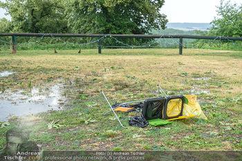 Sommernachtskomödie - Unwetter - Rosenburg, Niederösterreich - Do 24.06.2021 - Spuren des Unwetters - kurz bevor ein noch heftigeres kam3