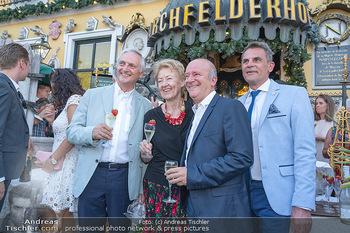 Geburtstag Birgit Sarata - Marchfelderhof - Mo 28.06.2021 - Karl und Johanna KOLARIK, Peter GROSSMANN, Andy LEE LANG19