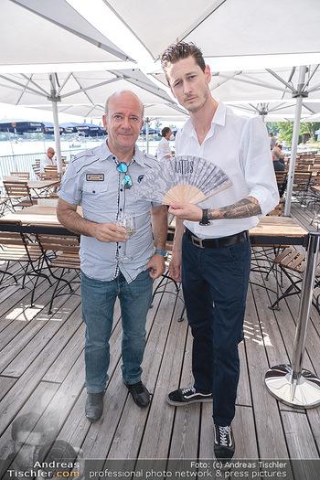 Christina Lunger Geburtstag - Strandcafe alte Donau, Wien - Di 29.06.2021 - Andy LEE LANG, Lucas BABUDER27