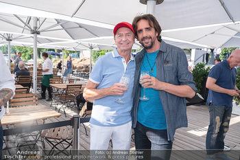 Christina Lunger Geburtstag - Strandcafe alte Donau, Wien - Di 29.06.2021 - Josef WINKLER, Heribert KASPER28