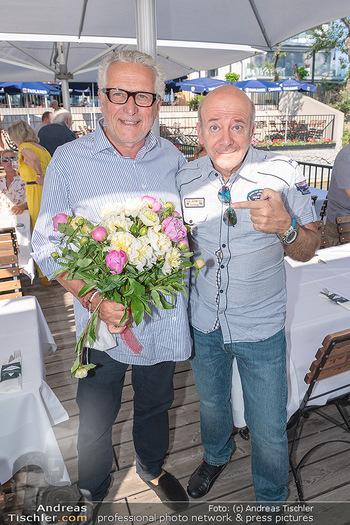 Christina Lunger Geburtstag - Strandcafe alte Donau, Wien - Di 29.06.2021 - Martin BIEDERMANN, Andy LEE LANG40