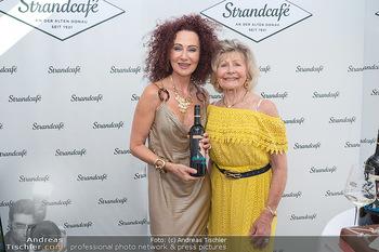 Christina Lunger Geburtstag - Strandcafe alte Donau, Wien - Di 29.06.2021 - Christina LUGNER mit Mutter Martha HAIDINGER41