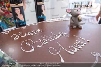 Christina Lunger Geburtstag - Strandcafe alte Donau, Wien - Di 29.06.2021 - Mausi Geburtstagstorte, happy birthday54