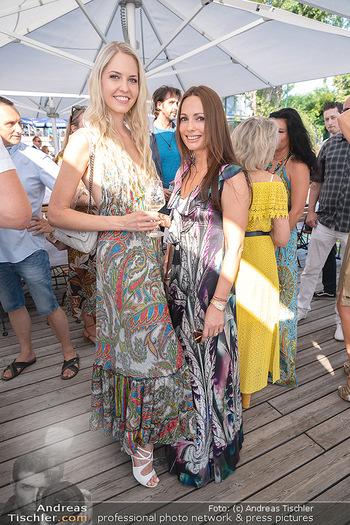 Christina Lunger Geburtstag - Strandcafe alte Donau, Wien - Di 29.06.2021 - Beatrice KÖRMER, Henrieta ZANONI57