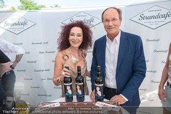 Christina Lunger Geburtstag - Strandcafe alte Donau, Wien - Di 29.06.2021 - Christina LUGNER, Ernst MINAR59