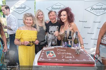 Christina Lunger Geburtstag - Strandcafe alte Donau, Wien - Di 29.06.2021 - Richard LUGNER mit Simone, Christina LUGNER mit Mutter Martha HA66