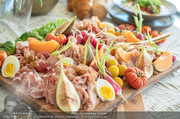 Lillet Les Ateliers Brunch - Privatvilla, Wien - Do 01.07.2021 - Buffet, Kalte Platte, Speisen, Fingerfood26