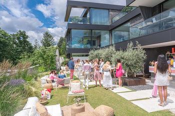Lillet Les Ateliers Brunch - Privatvilla, Wien - Do 01.07.2021 - Sommerfest Sommerparty auf Terrasse, Luxusvilla über Wien81