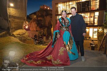 Turandot Probenfotos - Steinbruch St. Margarethen, Burgenland - Fr 02.07.2021 - Daniel SERAFIN mit Schwester Martina SERAFIN1