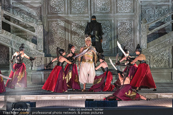 Turandot Probenfotos - Steinbruch St. Margarethen, Burgenland - Fr 02.07.2021 - Bühnenfotos, Probenfoto, Oper Turandot 20218