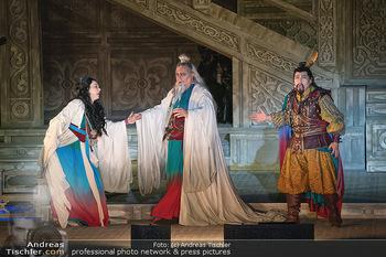 Turandot Probenfotos - Steinbruch St. Margarethen, Burgenland - Fr 02.07.2021 - Bühnenfotos, Probenfoto, Oper Turandot 202114