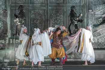 Turandot Probenfotos - Steinbruch St. Margarethen, Burgenland - Fr 02.07.2021 - Bühnenfotos, Probenfoto, Oper Turandot 202116