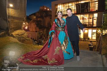 Turandot Probenfotos - Steinbruch St. Margarethen, Burgenland - Fr 02.07.2021 - Daniel SERAFIN mit Schwester Martina SERAFIN18