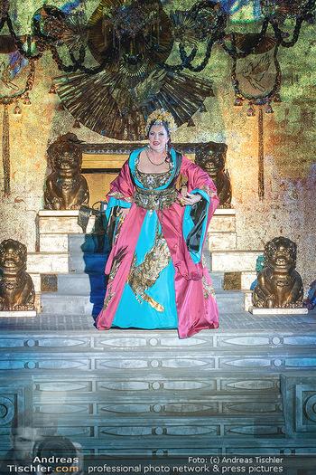 Turandot Probenfotos - Steinbruch St. Margarethen, Burgenland - Fr 02.07.2021 - Martina SERAFIN, Bühnenfotos, Probenfoto, Oper Turandot 202134