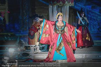 Turandot Probenfotos - Steinbruch St. Margarethen, Burgenland - Fr 02.07.2021 - Martina SERAFIN, Bühnenfotos, Probenfoto, Oper Turandot 202135