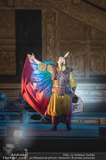 Turandot Probenfotos - Steinbruch St. Margarethen, Burgenland - Fr 02.07.2021 - Bühnenfotos, Probenfoto, Oper Turandot 202136