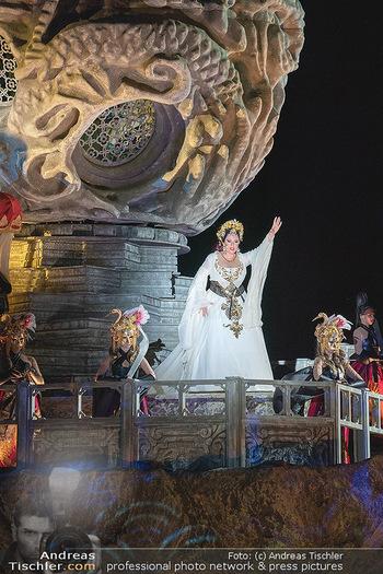 Turandot Probenfotos - Steinbruch St. Margarethen, Burgenland - Fr 02.07.2021 - Martina SERAFIN, Bühnenfotos, Probenfoto, Oper Turandot 202139