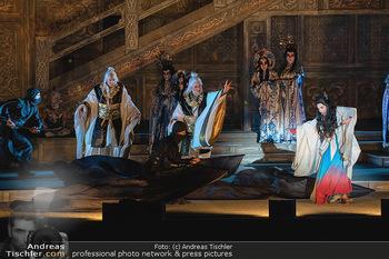 Turandot Probenfotos - Steinbruch St. Margarethen, Burgenland - Fr 02.07.2021 - Bühnenfotos, Probenfoto, Oper Turandot 202140