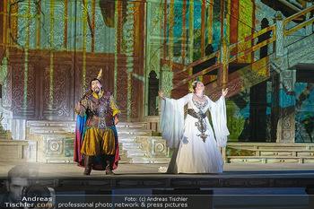 Turandot Probenfotos - Steinbruch St. Margarethen, Burgenland - Fr 02.07.2021 - Martina SERAFIN, Bühnenfotos, Probenfoto, Oper Turandot 202143