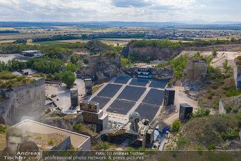 Bühne Turandot - Steinbruch St. Margarethen, Burgenland - Sa 03.07.2021 - Bühnenbild Turandot Römersteinbruch St. Margarethen 20213