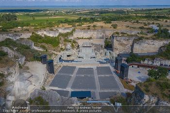 Bühne Turandot - Steinbruch St. Margarethen, Burgenland - Sa 03.07.2021 - Bühnenbild Turandot Römersteinbruch St. Margarethen 20219