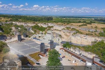 Bühne Turandot - Steinbruch St. Margarethen, Burgenland - Sa 03.07.2021 - Bühnenbild Turandot Römersteinbruch St. Margarethen 202115