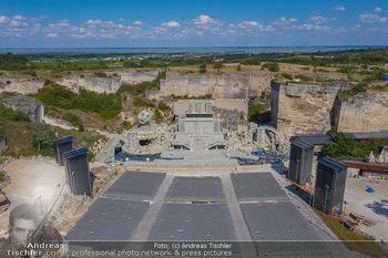 Bühne Turandot - Steinbruch St. Margarethen, Burgenland - Sa 03.07.2021 - Bühnenbild Turandot Römersteinbruch St. Margarethen 202121