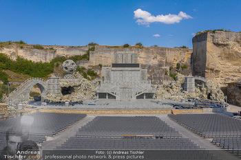 Bühne Turandot - Steinbruch St. Margarethen, Burgenland - Sa 03.07.2021 - Bühnenbild Turandot Römersteinbruch St. Margarethen 202127