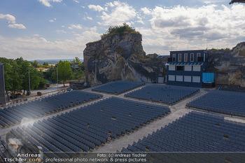 Bühne Turandot - Steinbruch St. Margarethen, Burgenland - Sa 03.07.2021 - Bühnenbild Turandot Römersteinbruch St. Margarethen 202134