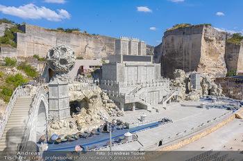 Bühne Turandot - Steinbruch St. Margarethen, Burgenland - Sa 03.07.2021 - Bühnenbild Turandot Römersteinbruch St. Margarethen 202138