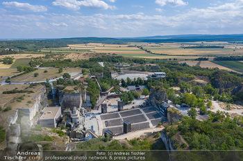 Bühne Turandot - Steinbruch St. Margarethen, Burgenland - Sa 03.07.2021 - Bühnenbild Turandot Römersteinbruch St. Margarethen 202151