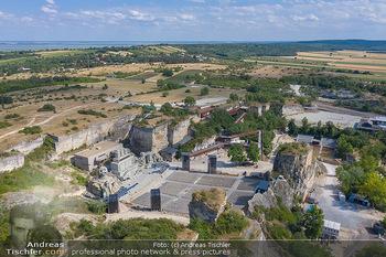 Bühne Turandot - Steinbruch St. Margarethen, Burgenland - Sa 03.07.2021 - Bühnenbild Turandot Römersteinbruch St. Margarethen 202152