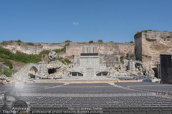 Bühne Turandot - Steinbruch St. Margarethen, Burgenland - Sa 03.07.2021 - Fotos vom Bühnenbild Turandot Oper im Steinbruch57