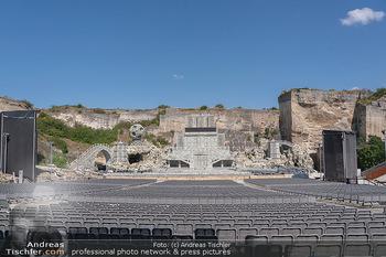 Bühne Turandot - Steinbruch St. Margarethen, Burgenland - Sa 03.07.2021 - Fotos vom Bühnenbild Turandot Oper im Steinbruch58