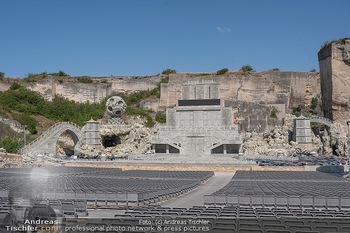 Bühne Turandot - Steinbruch St. Margarethen, Burgenland - Sa 03.07.2021 - Fotos vom Bühnenbild Turandot Oper im Steinbruch59