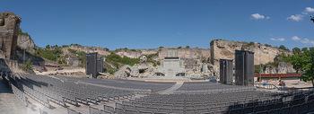 Bühne Turandot - Steinbruch St. Margarethen, Burgenland - Sa 03.07.2021 - Fotos vom Bühnenbild Turandot Oper im Steinbruch60